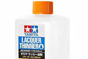 タミヤ・ラッカー溶剤 (リターダー入り 250ml)t