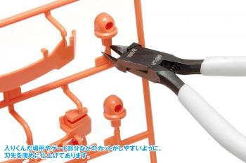 プラ用ニッパー(薄刃タイプ) (2)