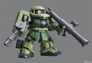 SDガンダム クロスシルエット ザクII (8)