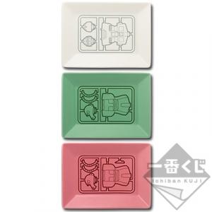 一番くじコラボ 機動戦士ガンダム ガンプラ D賞 小皿