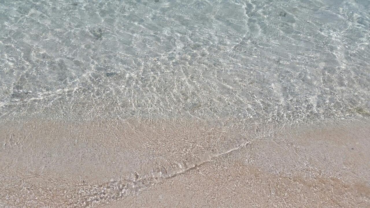 グアムリティディアンビーチ透明