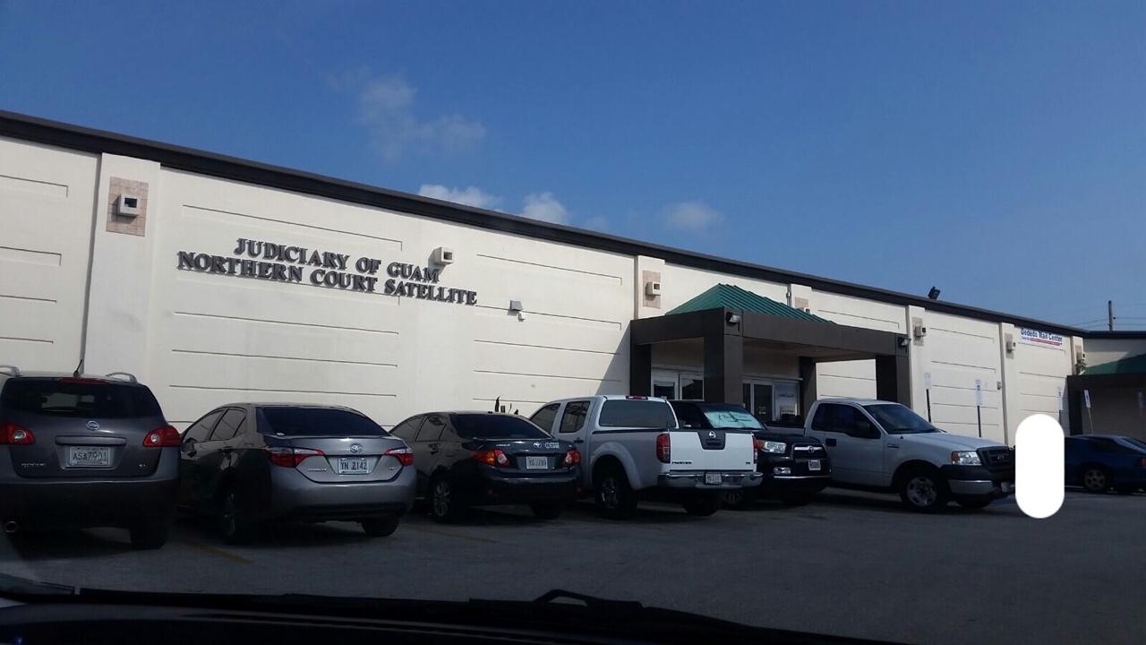 グアムデデドの裁判所 Northern Court Satellite