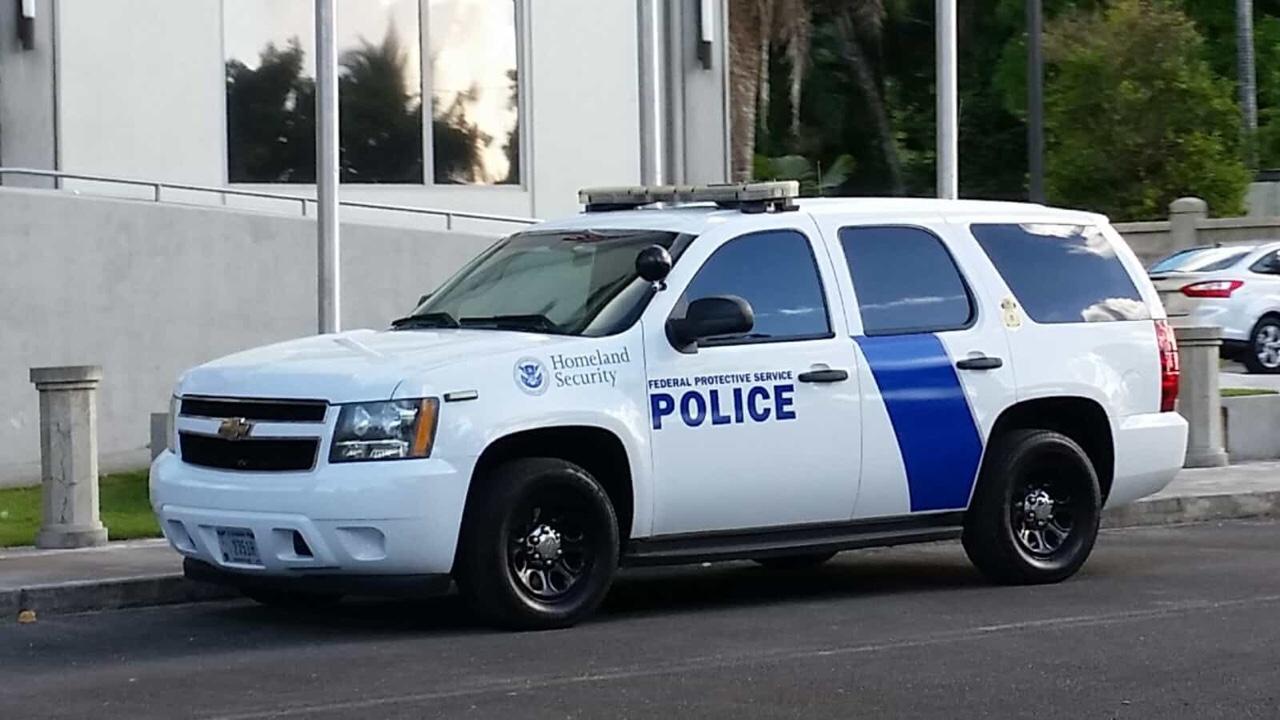 アメリカ グアム Federal Protective Service