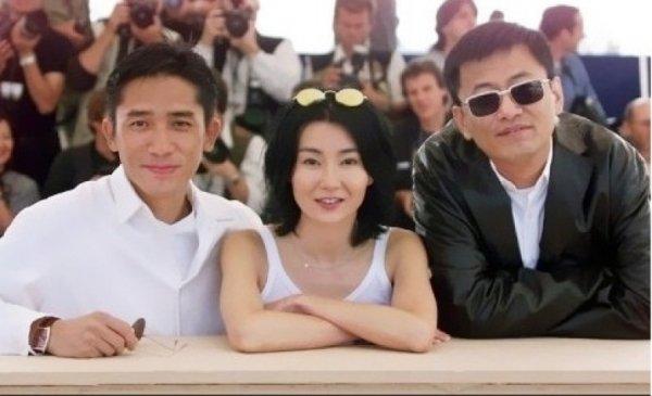 トニーさん&マギー・チャン&ウォン・カーウァイ監督
