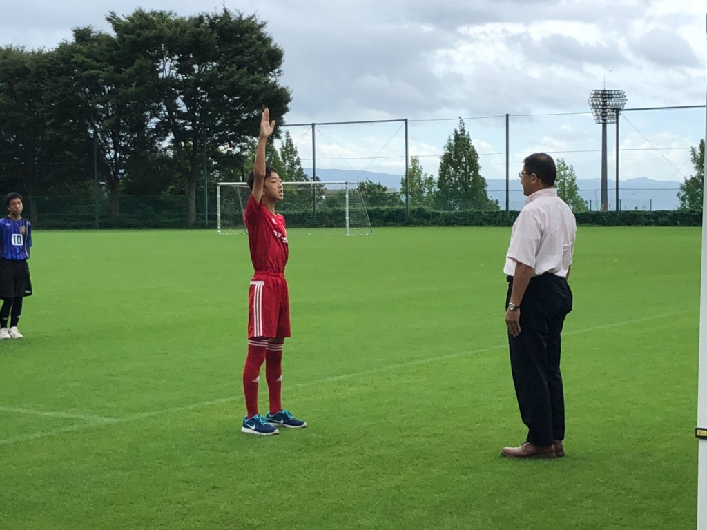 サッカー選手宣誓