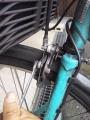 マイバイクの前ブレーキをメンテ(2)