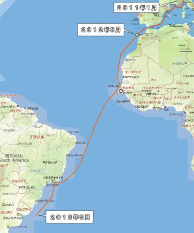 三千里地図・2018年5月