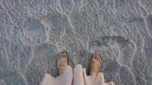 砂でデトックス