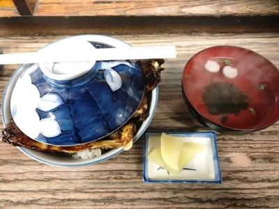 180228うなぎの田代鰻丼(上)3800円