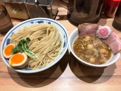 180302サバ6製麺所お初天神店サバ濃厚鶏つけ麺850円