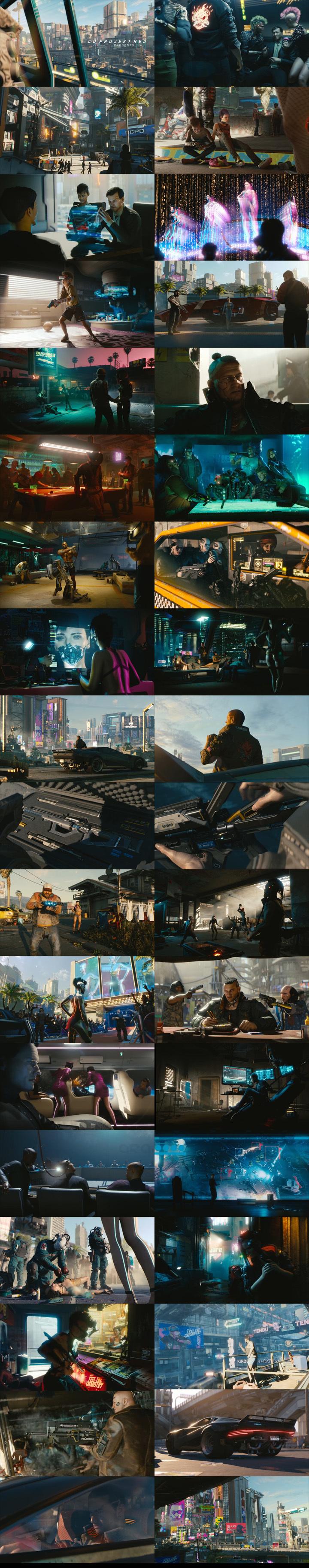 Cyberpunk 2077 – official E3 2018s01