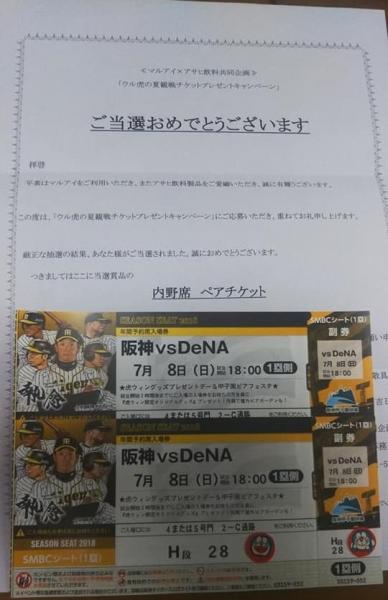 平成30年6月29日チケット1