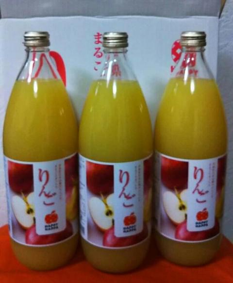 平成30年7月20日リンゴジュース1