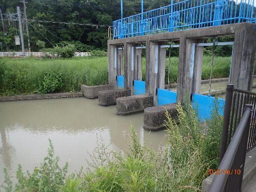 11曇川分水部