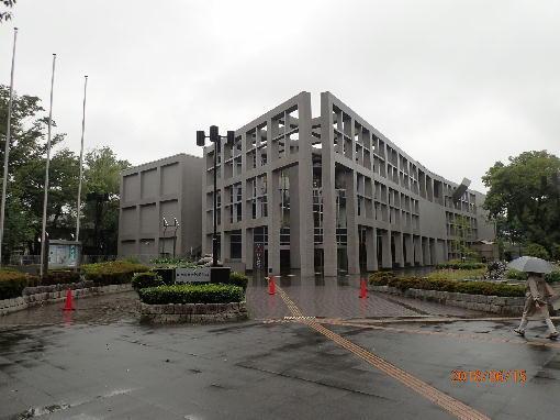 M埼玉県立近代美術館の全景
