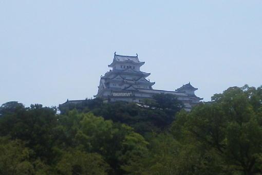 姫路城後ろ姿