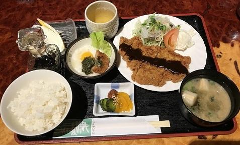長崎屋とんかつ定食