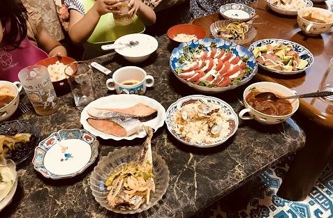 20180727晩ご飯