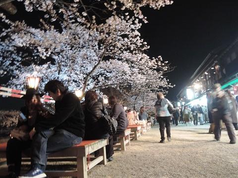 金沢城夜景④