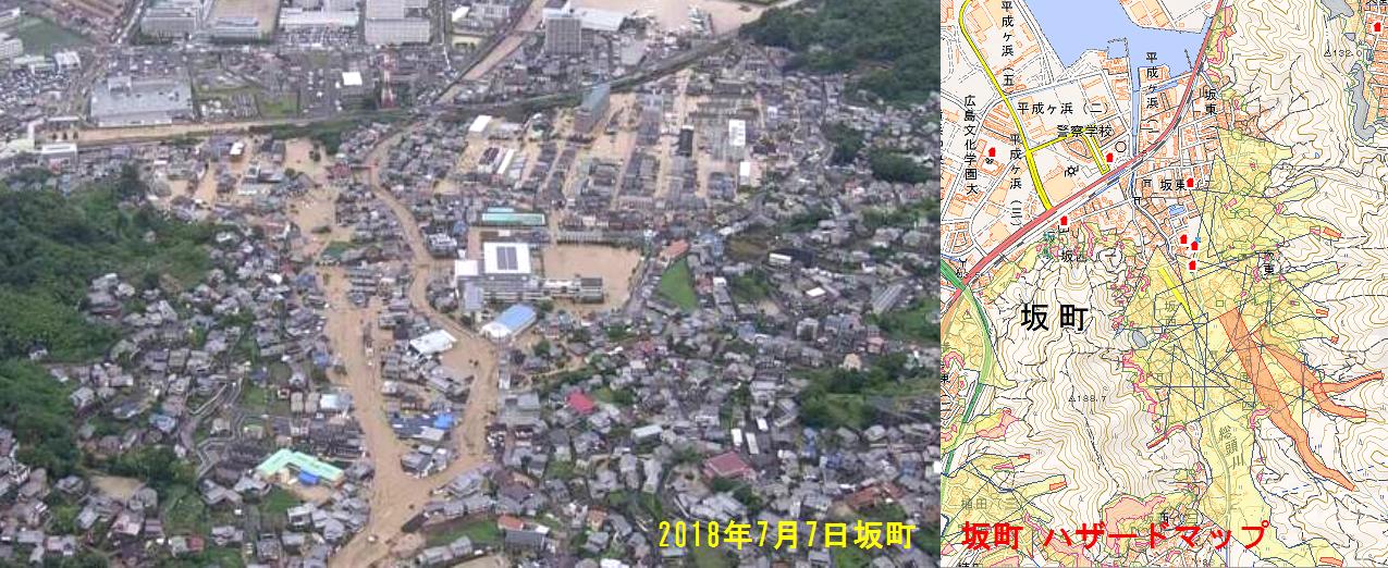 坂町ハザードマップ