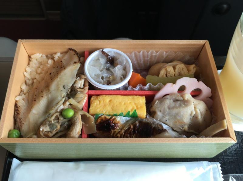 グランクラス和軽食 東京編