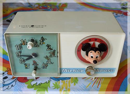ミッキーマウスラジオ&アラームクロック