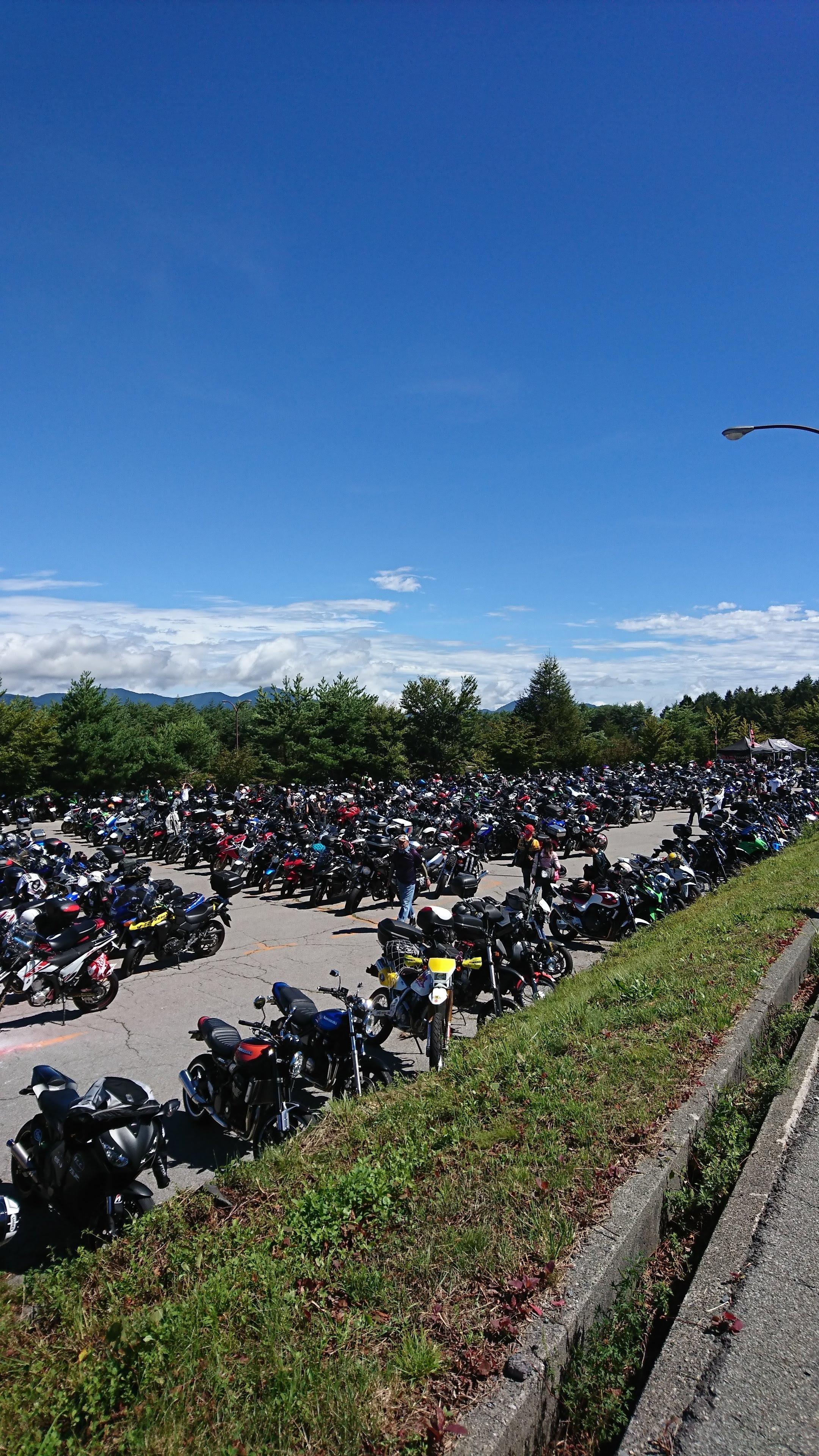 バイク駐車場4