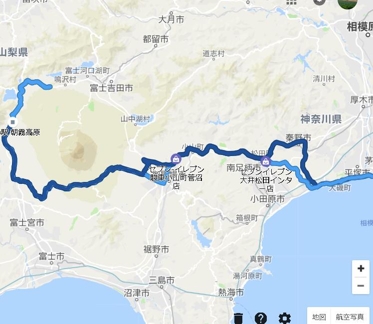 富士山スカイライン往復ツーリング2