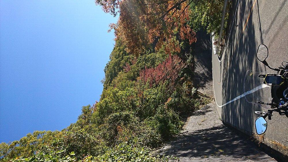 富士川遡上~身延~富士五湖~山梨県道35号経由~二十曲峠01