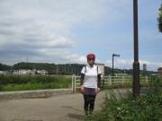 境川遊水池公園の今田休憩所ポケットパーク