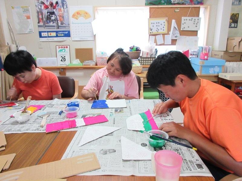 7月美術教室1