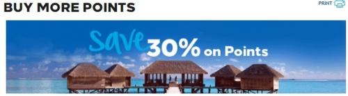 ヒルトンオーナーズはポイント購入で60%ボーナスマイルや50%ディスカウントなど会員ごとに提供