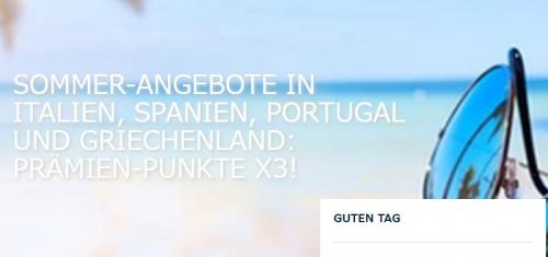 アコーホテル 南ヨーロッパでの滞在を対象にトリプルポイントキャンペーン