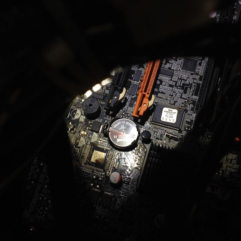 パソコンの電源が突然切れた008