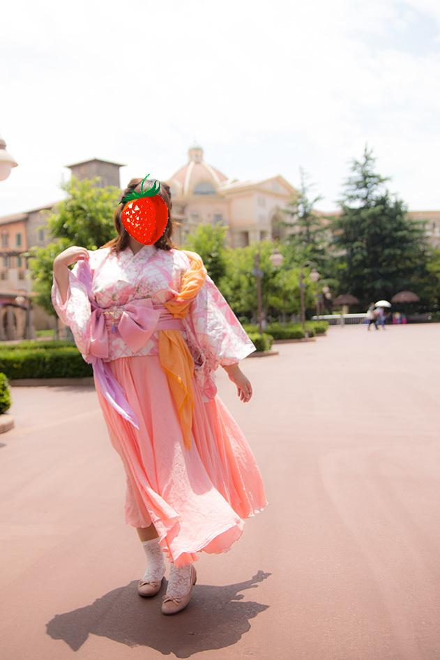 織姫風で浴衣イン☆1