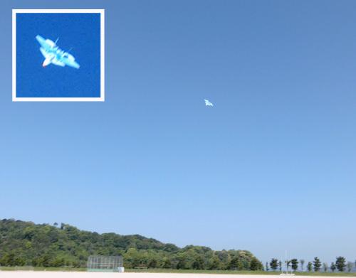 エーテル・ワン、青い方の飛んでるとこ。 その2。