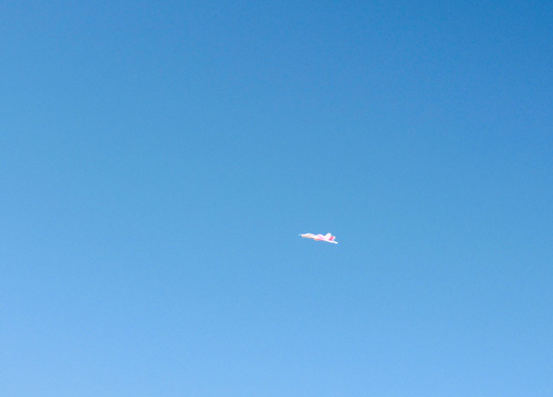 エーテル・ワン、ピンク方の飛んでるとこ。 その2。