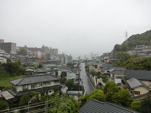 雨で~す!