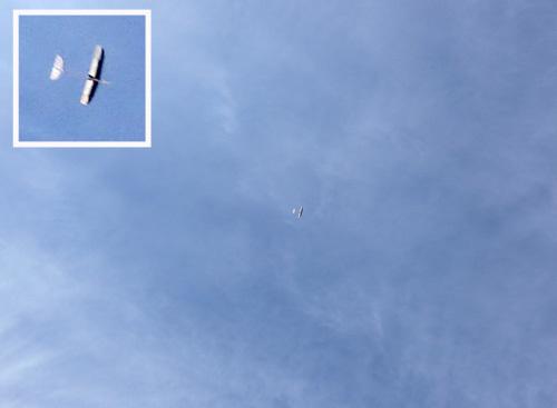 kh-18、飛んでるとこ。 その2。