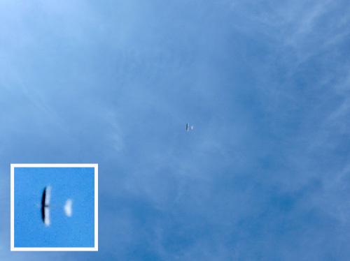 kh-18、飛んでるとこ。 その1。