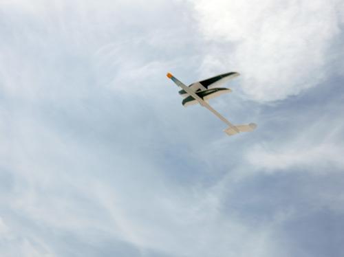 ケントウロス・ワン、飛んでるとこ。 その1。