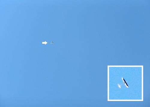 左SAL用、kh-18、この後、上空視界没へ~!