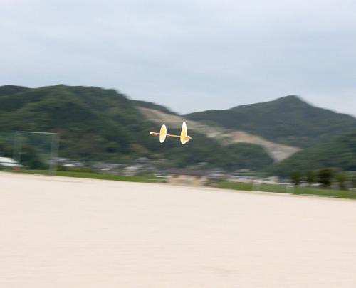 リーフ・ワン、飛行中。 その2。 今日のベストショット~!
