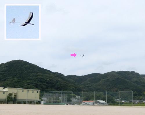 kh-18の左SAL投げ仕様、飛んでるトコ。 その3。