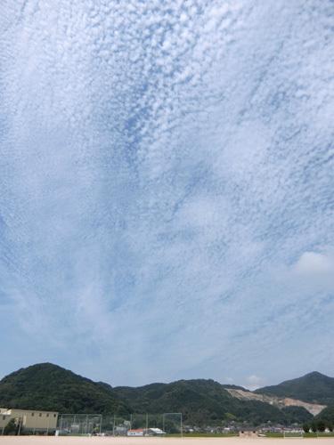 今日の雲は・・・、