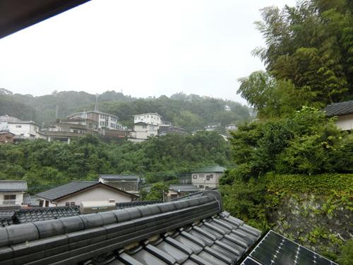 台風直撃の真っ最中~!
