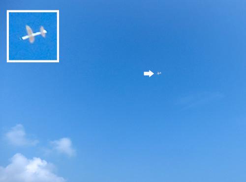n-909飛んでるトコ。 その1!