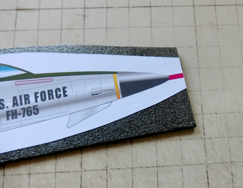 F-105の作り方。その6。
