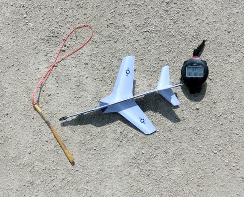 F-105、本日のベストタイム!