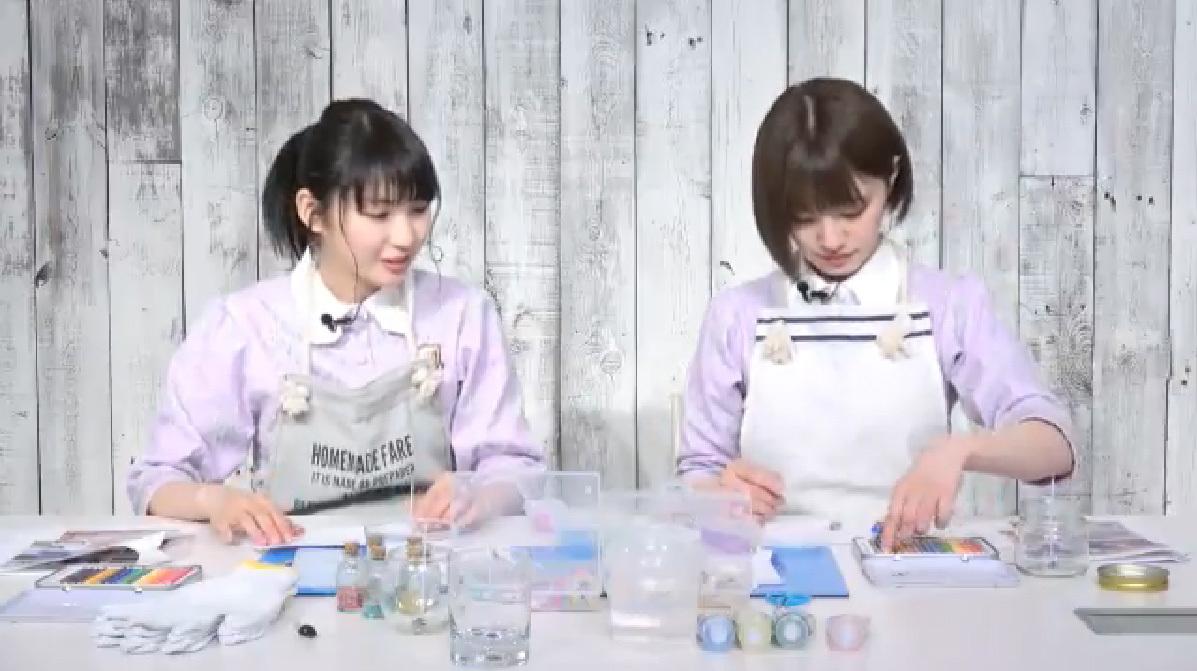 乃木坂46「猫舌SHOWROOM」 井上小百合 中田花奈